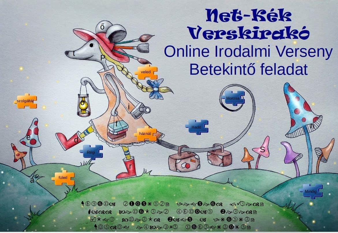 Net-Kék Verskirakó